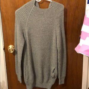 Dresses & Skirts - Sweater dress with hood